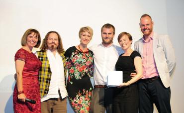 DOGBITE Team at Unlocking Potential Awards