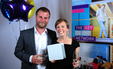 DOGBITE founders Michelle Taylor & John Crooks at Unlocking Potential Awards